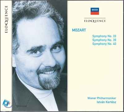 Istvan Kertesz 모차르트: 교향곡 33번, 39번, 40번 (Mozart: Symphonies K.319, K.546, KV550 'Great G Minor')