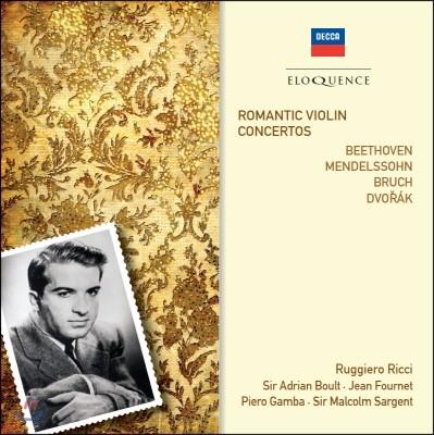 Ruggiero Ricci 루지에로 리치가 연주하는 로맨틱 바이올린 협주곡 (Romantic Violin Concertos)