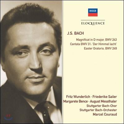 Fritz Wunderlich / Marcel Couraud 바흐: 마니피카트, 칸타타, 부활절 오라토리오 (Bach: Magnificat, Cantata BWV31, Easter Oratorio)