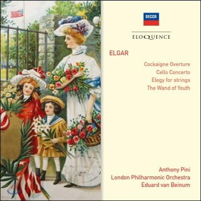 Anthony Pini 엘가: 코카인 서곡, 첼로 협주곡 (Elgar: Cockaigne, Cello Concerto)