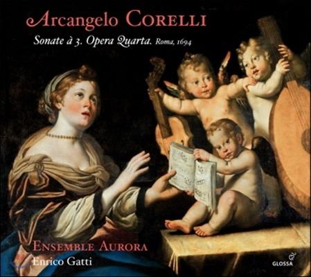 Enrico Gatti 코렐리: 12곡의 트리오 소나타 (Corelli: Sonate da Camera a Tre Op.4) 엔리코 가티