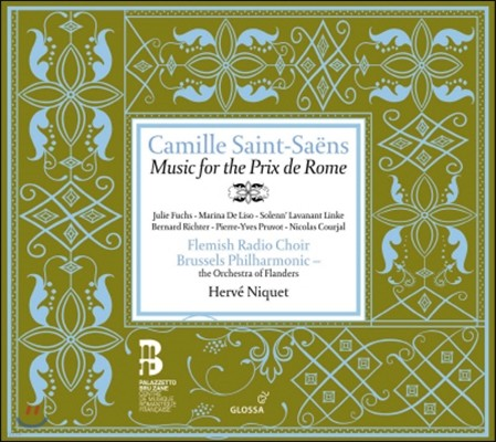 Herve Niquet 생상: 로마 대상을 위한 음악 (Saint-Saens: Music For The Prix De Rome)