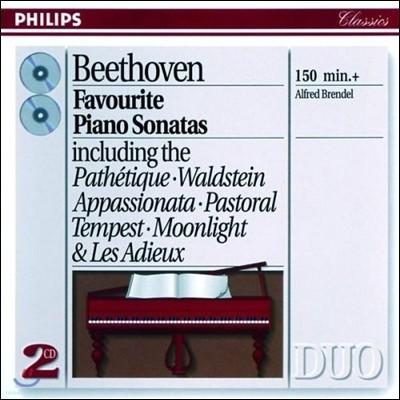 Alfred Brendel 베토벤: 피아노 소나타 8번 `비창` 14번 `월광` 21번 `발트슈타인` 23번 `열정` (Beethoven: Piano Sonatas)  알프레드 브렌델