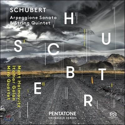 Matt Haimovitz 슈베르트: 아르페지오네 소나타 [첼로 연주], 현악 5중주 (Schubert: Arpeggione Sonata, String Quintet D956) 매트 하이모비츠
