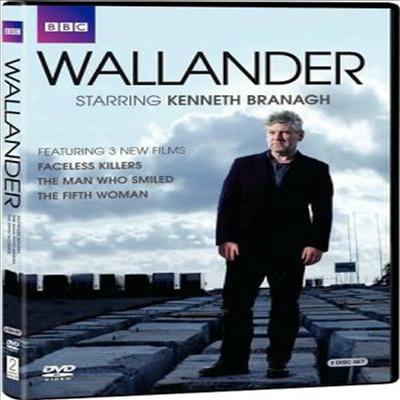 Wallander: Faceless Killers & Man Who Smiled (월랜더)(지역코드1)(한글무자막)(2DVD)