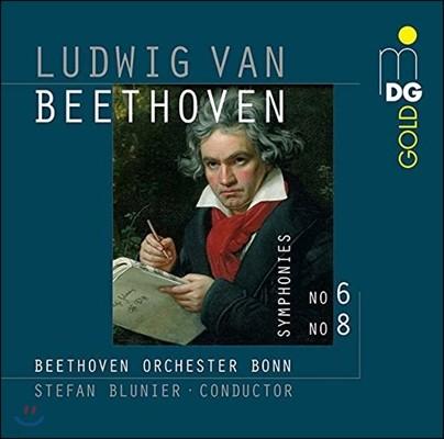 Stefan Blunier 베토벤: 교향곡 6번 '전원', 8번 (Beethoven: Symphonies Op.68 'Pastorale', Op.93)