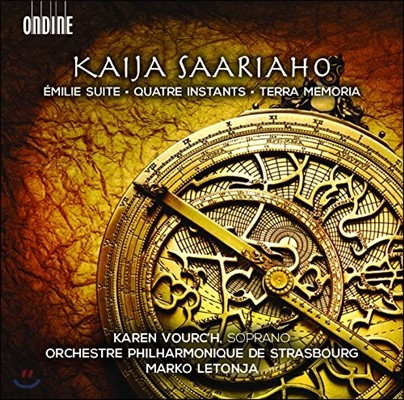 Marko Letonja 사리아호: 에밀리 모음곡, 4개의 즉흥곡, 테라 메모리아 (Saariaho: Emilei Suite, Quatre Instants, Terra Memoria)