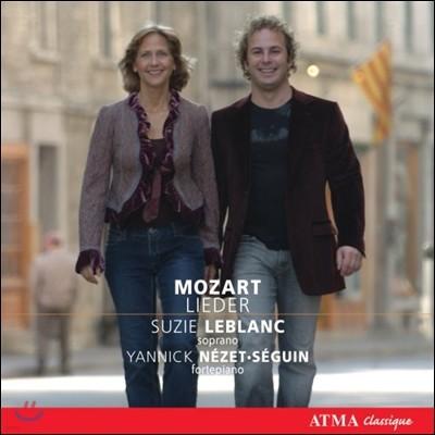 Suzie Leblanc 모차르트: 가곡집 (Mozart: Lieder)