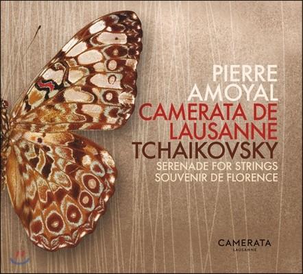 Pierre Amoyal 차이코프스키: 현을 위한 세레나데, 플로렌스의 추억 (Tchaikovsky: Serenade for Strings, Souvenir de Florence)