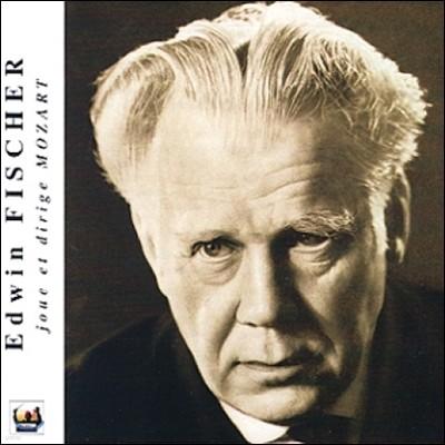 Edwin Fischer 모차르트: 피아노 협주곡 20번, 교향곡 40번, 네 손을 위한 피아노 협주곡 10번 (Mozart: Piano Concertos KV466, KV365, Symphony KV550)