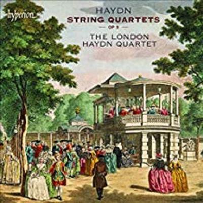 하이든 : 현악 사중주 (Haydn : String Quartets, Op.9) (2 for 1) - The London Haydn Quartet