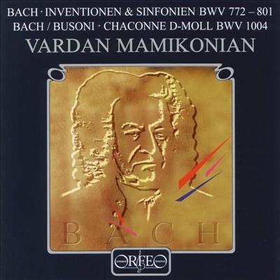 바흐 : 인벤션과 파르티타 (Bach : Inventionen And Partita) - Vardan Mamikonian