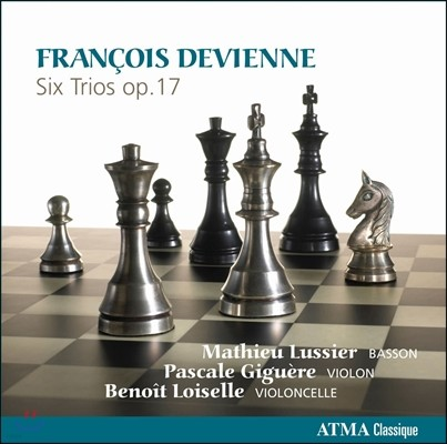 Mathieu Lussier 드비엔느: 바순 삼중주 (Devienne: Six Trios Op.17)