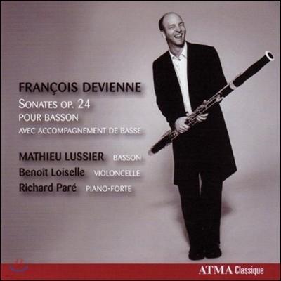 Mathieu Lussier 드비엔느: 바순 소나타 (Devienne: Bassoon Sonata Op.24)