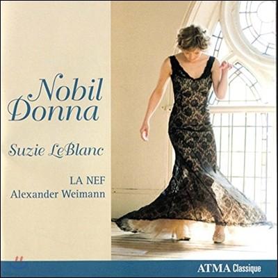 Suzie LeBlanc 고귀한 부인 - 바르베리니 궁정의 음악 (Nobil Donna)