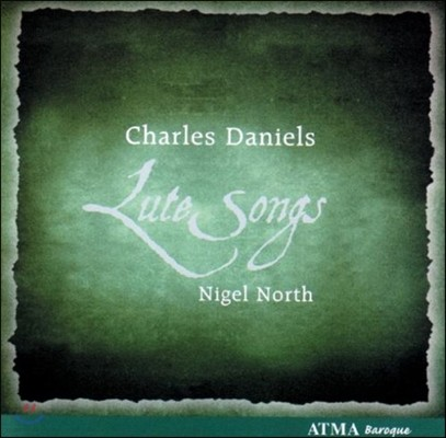 Charles Daniels 영국 류트 송 (Lute Songs)