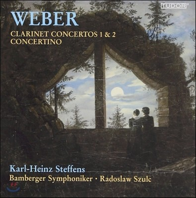 Karl-Heinz Steffens 베버: 클라리넷 협주곡 1번, 2번, 콘체르티노 (Weber: Clarinet Concertos Op.73, Op.74, Concertino for Clarinet Op.26)