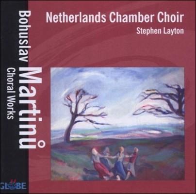 Netherlands Chamber Choir 마르티누: 합창 작품집 (Martinu: Choral Works)