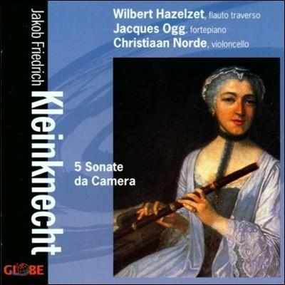 Wilbert Hazelzet 클라인크네흐트: 다섯 개의 소나타 다 카메라 (Kleinknecht: 5 Sonate da Camera)