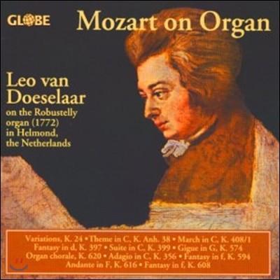 Leo Van Doeselaar 모차르트: 오르간 작품집 (Mozart on Organ)