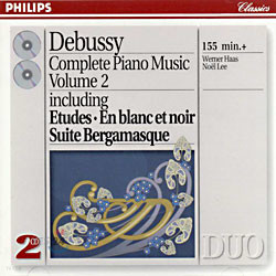 Debussy : Complete Piano Music Vol.Ⅱ : Werner Haas