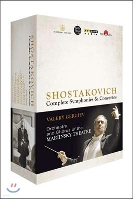 Valery Gergiev 드미트리 쇼스타코비치 사이클 - 교향곡과 협주곡 전곡 (Dimitri Shostakovic cycle) 발레리 게르기예프