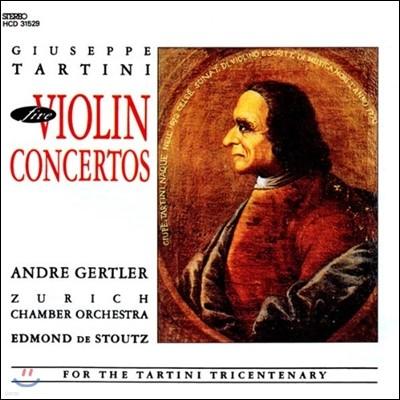 Andre Gertler 타르티니: 바이올린 협주곡 (Tartini: Violin Concertos)