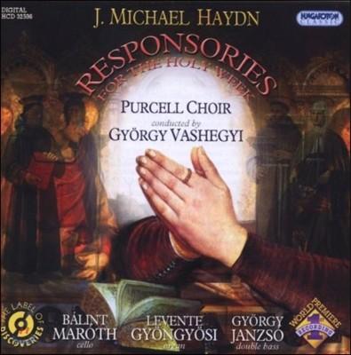 Purcell Choir 미하엘 하이든: 성주간을 위한 응답곡 (M. Haydn: Responsories for the Holy Week)