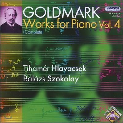 Tihamer Hlavacsek 골드마르크: 피아노 작품 전집 4 (Goldmark: Complete Works for Piano Vol.4)
