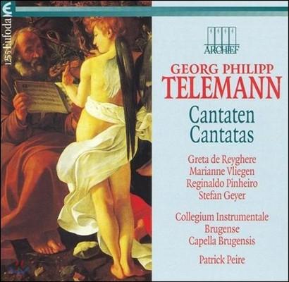 Patrick Peire 텔레만: 칸타타 (Telemann: Cantatas)