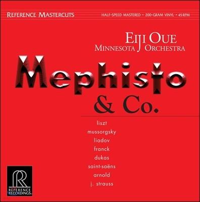 Eiji Oue 메피스토와 동료들 - 리스트 / 무소르그스키 / 프랑크 / 생상 (Mephisto & Co. - Liszt / Mussorgsky / Franck / Saint-Saens)