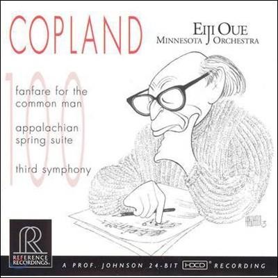 Eiji Oue 코플란드: 보통 사람을 위한 팡파레, 아팔라치아의 봄, 교향곡 3번 (Copland: Fanfare for the Common Man, Appalachian Spring, Third Symphony) 에이지 오우에