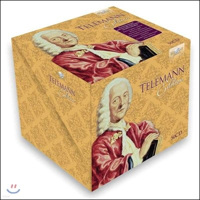 텔레만 에디션 50CD 박스세트 (Telemann Edition)