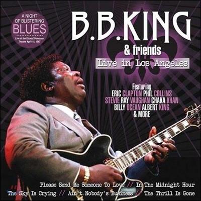 B.B. King & Friends (비비 킹 & 프렌즈) - Live In Los Angeles [LP]