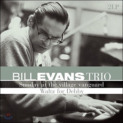 Bill Evans Trio (빌 에반스 트리오) - Sunday At The Village Vanguard / Waltz For Debby [2 LP]