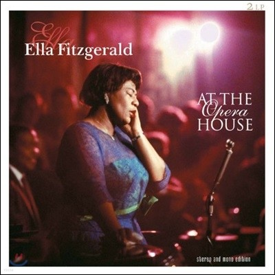 Ella Fitzgerald - At The Opera House 엘라 피츠제럴드 1975년 라이브 [2 LP]