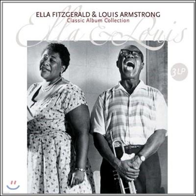 Ella Fitzgerald & Louis Armstrong - Classic Album Collection 엘라 피츠제럴드 & 루이 암스트롱 클래식 앨범 컬렉션 [3 LP]
