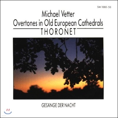 Michael Vetter 옛 유럽 성당의 색채 - 밤의 노래 (Overtones in Old European Cathedrals, Thoronet - Gesaenge der Nacht)