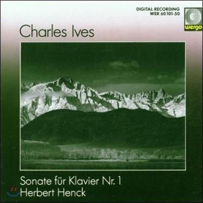Herbert Henck 아이브스: 피아노 소나타 1번 (Ives: Piano Sonata No.1)