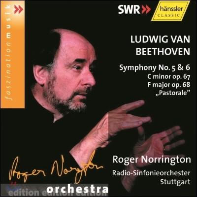 Roger Norrington 베토벤: 교향곡 5번, 6번 '전원' (Beethoven: Symphonies Op.67, Op.68 'Pastorale')