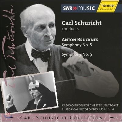 Carl Schuricht 브루크너: 교향곡 8번, 9번 (Bruckner: Symphony Nos.8, 9)