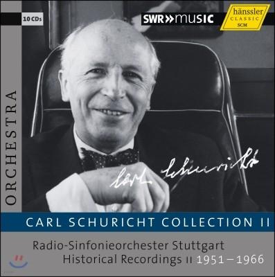 카를 슈리히트 에디션 2집 - 베토벤 / 브람스 / 슈만: 교향곡 외 (Carl Schuricht Collection Volume 2)