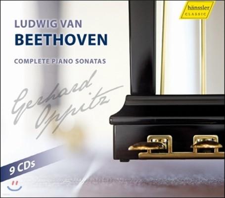 Gerhard Oppitz 베토벤: 피아노 소나타 전곡집 (Beethoven: Complete Piano Sonatas)
