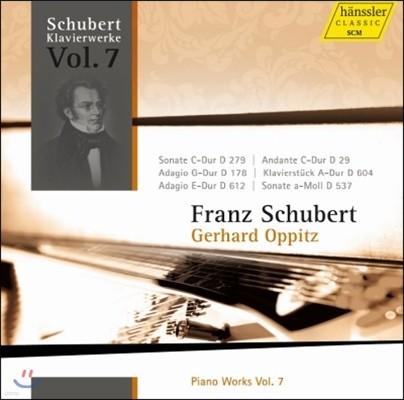 Gerhard Oppitz 슈베르트: 피아노 작품집 7집 - 게르하르트 오피츠 (Schubert: Piano Works Vol.7)