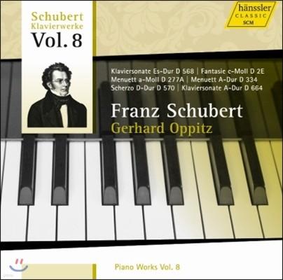 Gerhard Oppitz 슈베르트: 피아노 작품집 8집 (Schubert: Piano Works Vol.8)