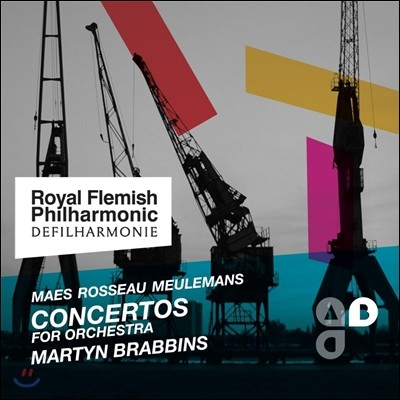 Martyn Brabbins 묄르망 : 오케스트라 협주곡 1번, 2번 (Meulemans: Concertos for Orchestra)