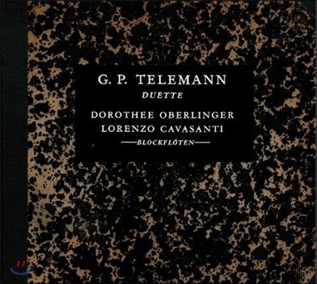 Dorothee Oberlinger 텔레만: 리코더 이중주 작품집 (Telemann: Duette - Works For Two Recorders)