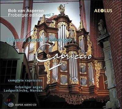 Bob Van Asperen 프로베르거: 에디션 7집 - 카프리치오 전집 (Froberger: Edition Vol.7 - Complete Capriccios)