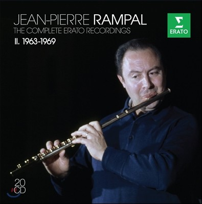 Jean-Pierre Rampal 장 피에르 랑팔 에라토 녹음 2집 1963-1969 (The Complete Erato Recordings)