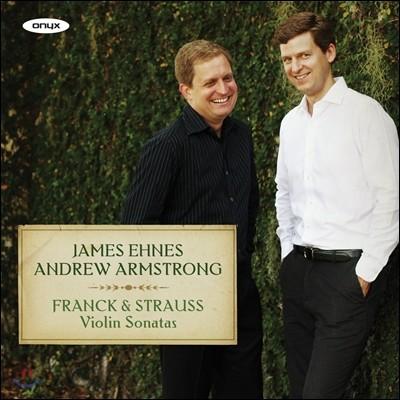 James Ehnes 프랑크 / 슈트라우스: 바이올린 소나타 (Franck / Strauss: Violin Sonatas)